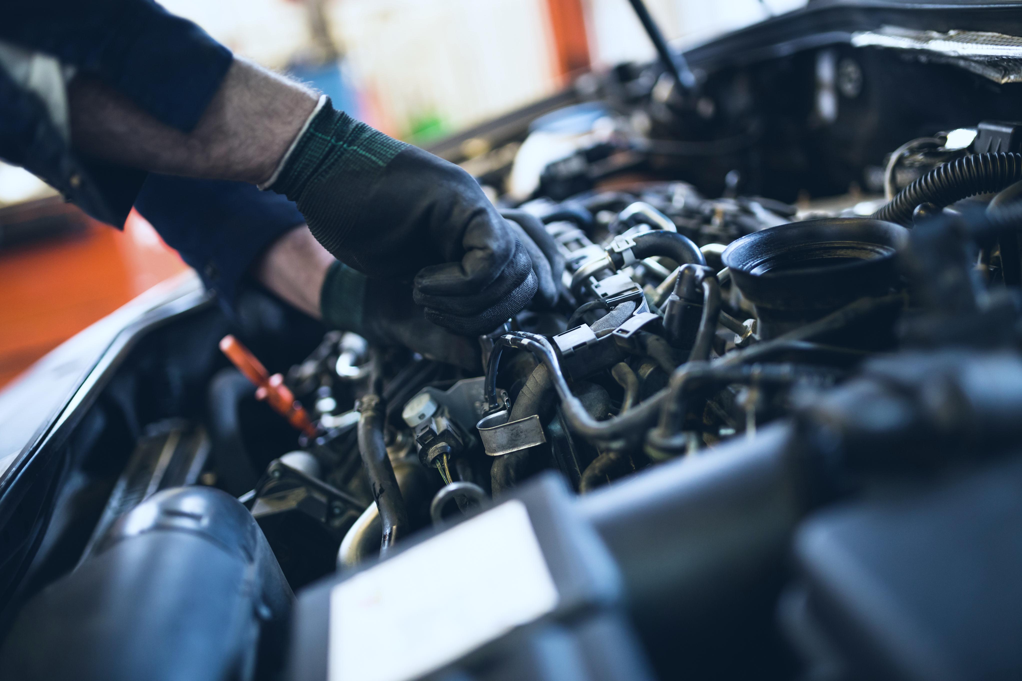 Rotec Engineering Motoruntersuchung