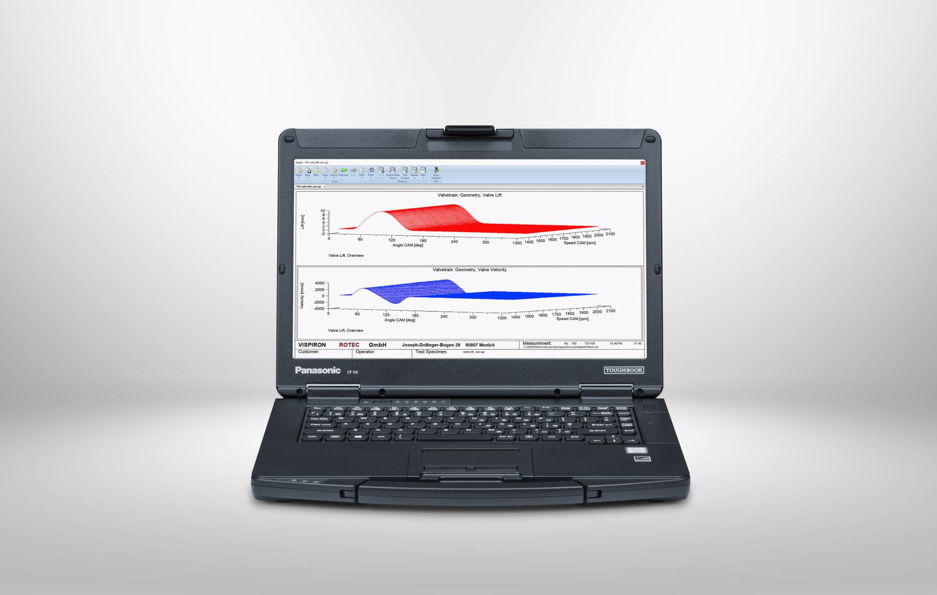 valve drive analysis rotec software